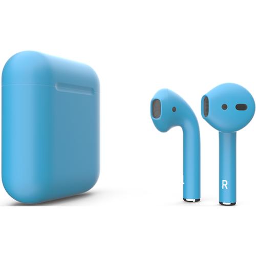 Наушники Apple AirPods Blue Matte Голубой матовый