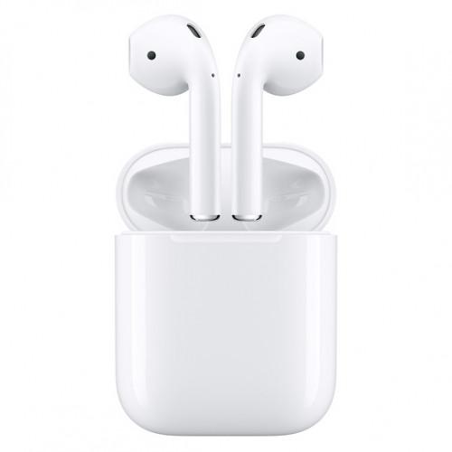 Наушники Apple AirPods 2 White Белый (с беспроводным зарядным футляром)