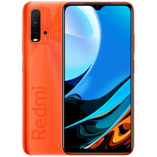 Смартфон Xiaomi Redmi 9T 4/64GB NFC RU, оранжевый рассвет